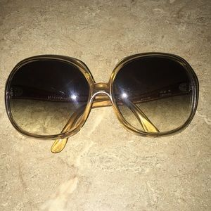 Vintage Mary Quant Oversized Sunglasses